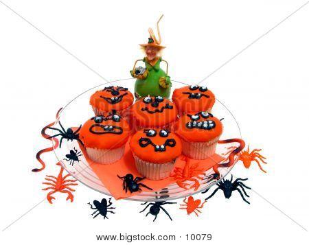 Halloween Cupcake poster