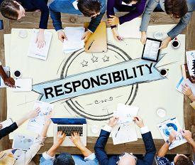 image of trustworthiness  - Responsibility Reliability Trust Liability Trustworthy Concept - JPG