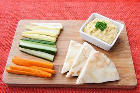 foto of humus  - Carrot - JPG