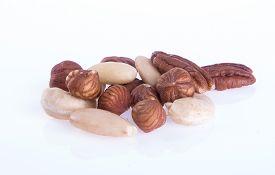 stock photo of mixed nut  - mix nut - JPG