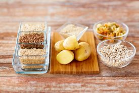 stock photo of carbohydrate  - diet - JPG