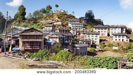 Khiji Bazar village