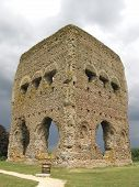 image of gaul  - Old Roman Temple of Janus temple in Autun France - JPG