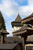 stock photo of suceava  - Image of Gura Humorului Tower - JPG