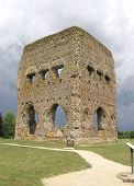 pic of gaul  - Ancient Roman Temple of Janus in Autun France - JPG