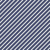 Vector Geometric Lines Pattern. Navy Blue And White Abstract Graphic Striped Ornament. Simple Geomet poster