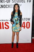 LOS ANGELES - DEC 12:  Kali Hawk arrives to the 'This is 40'  Premiere. at Graumans Chinese Theater