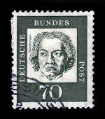 German Composer And Pianist Ludwig Van Beethoven