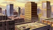 Urban Buildings poster