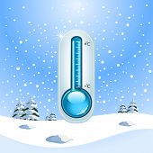pic of freezing temperatures  - Winter Freeze Concept - JPG