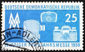 Postage Stamp Gdr 1959 Photographic Equipment