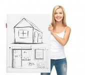 picture of blueprints  - real estate - JPG