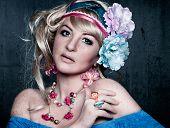 image of barbie  - flower power candy girl - JPG