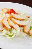 pic of caesar salad  - Chicken Caesar salad - JPG