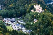 Hohenschwangau Castle, located near Neuschwanstein, Germany