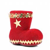 Christmas gift red boot