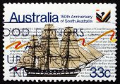 Postage Stamp Australia 1986 Sailing Ship Buffalo
