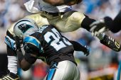 Chris Gamble Nfl New Orleans Saints Vs Carolina Panthers