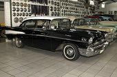 Vintage Car 1957 Chevrolet Biscayne 4 Door Sedan