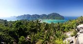 picture of koh phi-phi  - Travel vacation background  - JPG