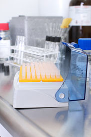 stock photo of hplc  - Picture of equipment and tools in a lab