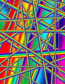 stock photo of trippy  - A rainbow color abstract psychedelic background image - JPG