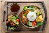 image of ayam  - Famous traditional Indonesian food - JPG