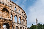 stock photo of arena  - Roman amphitheatre  - JPG