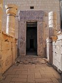 foto of hatshepsut  - Gate of the Temple of Hatshepsut in Luxor - JPG