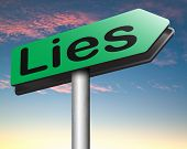 picture of tell lies  - lies breaking promise break promises cheating and deception lying    - JPG