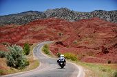 Постер, плакат: Adventure Motorcycle Travel