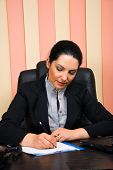 Executive Formal Woman Working In Office