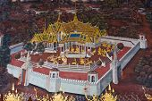 stock photo of annal  - Picture from temple of emerald Buddha - JPG