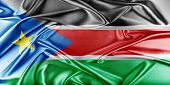 image of sudan  - South Sudan Flag - JPG