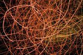 picture of laser beam  - Light display - JPG