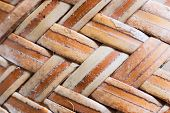 picture of bamboo  - bamboo texture thailand culture thai handmade from bamboo - JPG