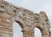 pic of arena  - Roman arches in the Arena in Verona City Italy - JPG