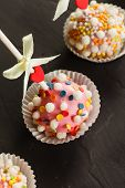 image of cake pop  - cake pops - JPG