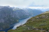 picture of eminent  - Beautiful landscape of Norway - JPG