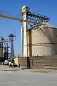 foto of animal husbandry  - This Central California plant processes animal feed - JPG