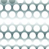 image of twisty  - Abstract wavy grid mesh of curved lines with twisted spirally effect - JPG