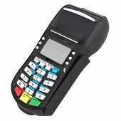 picture of automatic teller machine  - POS terminal - JPG