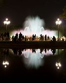 Magic Fountain Of Montjuic Show In Barcelona poster