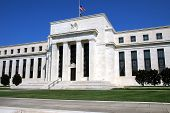 image of macroeconomics  - The US Federal Reserve in Washington DC on a beautiful summer day - JPG