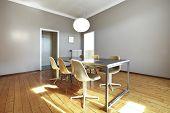 Постер, плакат: красивая квартира переоборудованы обеденный зал в стиле ретро
