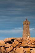 picture of por  - Pors Kamor lighthouse - JPG