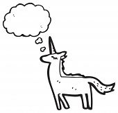 pic of unicorn  - cartoon unicorn - JPG