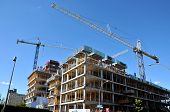 stock photo of chums  - Under construction new Montreal - JPG