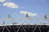 image of olympic stadium construction  - LONDON  - JPG