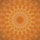 Dark Orange Mandala